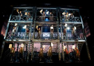 The Newsies, Newsies at Paper Mill Playhouse, Photo by T. Charles Erickson, courtesy of Paper Mill Playhouse