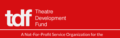 Image of the Theatre Development Fund website.