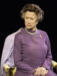 "Helen Mirren zs Queen Elizabeth in the National Theatre production of ""The Audience.""/Courtesy National Theatre"