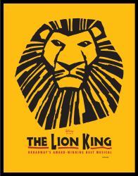 "Poster from ""The Lion King"" musical./Courtesy Wikipedia"