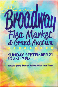 28th Annual Broadway Flea Market & Grand Auction is Sept. 21./Image courtesy Broadway Cares/Equity Fights AIDS website.