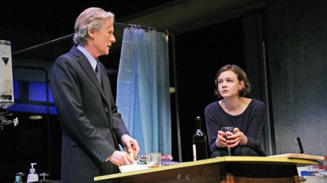 "The London production of ""Skylight,"" starring  Bill Nighy and Cary Mulligan, will be broadcast by the National Theatre Live during October around the country and open on Broadway in the Spring with its original London cast."