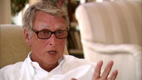 A immigrant from Berlin, Mike Nichols spoke virtually no English when he arrived in the U.S. He said he felt like an outside looking in for most of his life, which helped him greatly as a director./Photo courtesy PBS