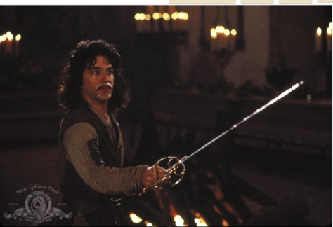 "Still image of Mandy Patinkin in ""The Princess Bride"" (1987)."