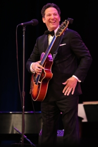 "Image of John Pizzarelli performs as part of Season Two of ""American Songbook at NJPAC."" (Photo by Daniel Cardenas/NJTV)"
