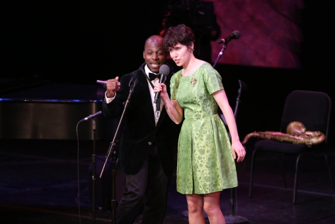 "Image of Nellie McKay performs during Season Two of ""American Songbook at  NJPAC."" (Photo by Daniel Cardenas/NJTV)"