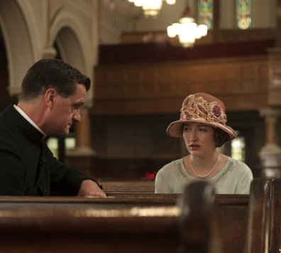 Image of Still of Michael Cumpsty and Kelly Macdonald in Boardwalk Empire (2010)