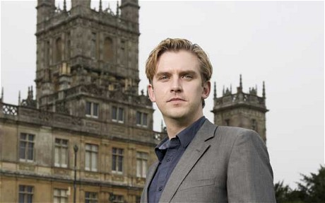 "Image of Dan Stevens, best known as Matthew Crawley and heir to the Downton Abbey estate,  has been cast as the Beast/Prince in Disney's ""Beauty and the Beast"" movie."