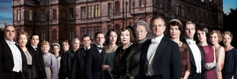 "Image of ""Downton Abbey"" cast, which will end its successful run on TV at the end of its next season."