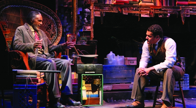 Ruben Santiago-Hudson's new play about race now at Two River Theater
