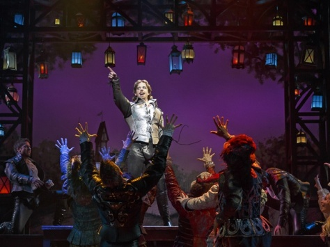 """Although """"Something Rotten""""had 10 Tony Award nominations, the only one it took home was for Christian Borle for Best Performance by an Actor in a Featured Role in a Musical. (PHOTO: Joan Marcus)"""