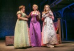 "From left, Annie Funke (as Jacqueline), Christine Ebersole (as Rodmilla) and Mara Davi (as Marguerite) in ""Ever After"" at Paper Mill Playhouse. (Photo by Jerry Dalia)"