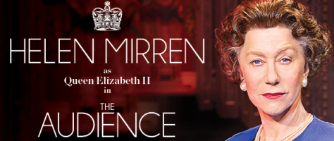"Helen Mirren stars in the Broadway production of ""The Audience."" She won the 2015 Tony Award for Best Actress in a Drama for her performance."