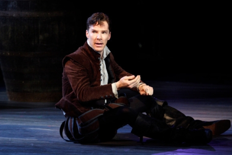 "Benedict Cumberbatch has begun performances in ""Hamlet"" at the National Theatre in London's West End. (PHOTO: National Theatre)"
