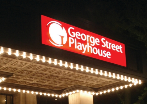 George Street Playhouse marquee