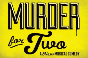 "Image of ""Murder for Two"" logo."