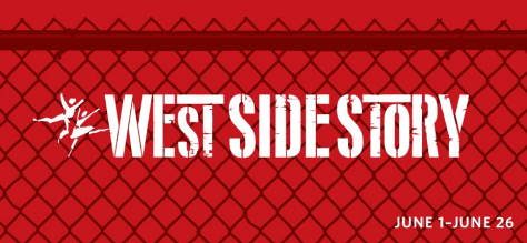 "Screen grab of logo for ""West Side Story"" musical on the schedule for the 2915-2016 season at Paper Mill Playhouse."