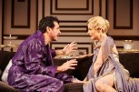 "Bradley Dean and Lisa Brescia in Ken Ludwig's ""A Comedy of Tenors."" PHOTO: Roger Mastroianni"