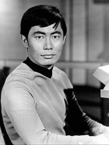 "George Takei as Lieutenant Hikaru Sulu, from the TV series ""Star Trek"" (1966). PHOTO: Wikipedia"
