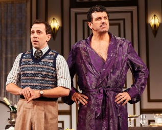 "Rob McClure and Bradley Dean in ""A Comedy of Tenors."" PHOTO: Roger Mastroianni"