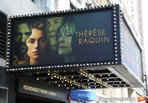 "Keira Knightly is making her Broadway debut in the Roundabout Theatre Company production of ""Thérèse Paquin."""