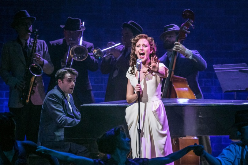"""Laura Osnes stars in the Paper Mill Playhouse production of """"The Bandstand."""" (PHOTO: Jerry Dalia)"""