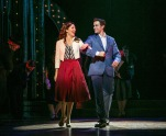"Laura Osnes as Julia and Corey Cott as Donny in the Paper Mill Playhouse production of ""The Bandstand."" (PHOTO: Jerry Dalia)"