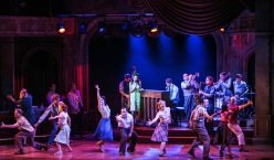 """The Bandstand"" at the Paper Mill Playhouse is directede and choreographed by Tony Award winner Andy Blankenbuehler with book and lyrics by Richard Oberacker and Robert Taylor and music by Oberacker. (PHOTO: Jerry Dalia)"