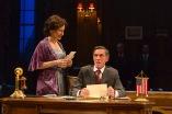 Laila Robins as Edith Wilson and John Glover as Woodrow Wilson. Photo by T. Charles Erickson