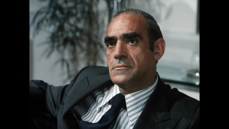"Abe Vigoda in a TV episode of ""The Rockford Files."""