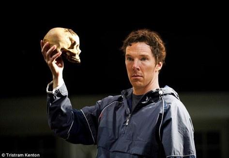 Benedict Cumberbatch for Hamlet at Barbican Theatre