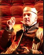 """Paul Mullins as the title character in Shakespeare's """"Richard III,"""" a play he will direct this season."""