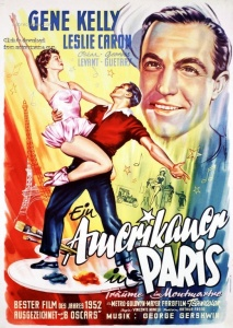 Poster from the classic 1951 movie musical.
