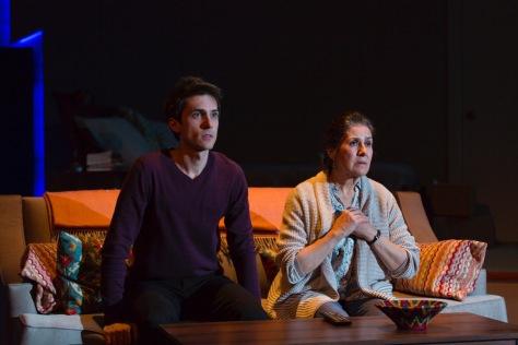 """Guadalupe In the Guest Room"" received its world premiere at Two River Theatre Company. Written by Tony Meneses and directed by Daniella Tool. (PHOTO: T Charles Ericsson)"