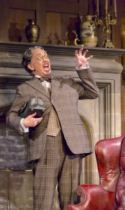 Mr. Paravicini, played by Thom Sesma is an unexpected guest. (PHOTO: T Charles Ericsson)