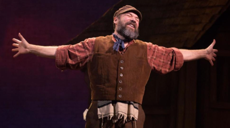 "Danny Berstein stars in ""Fiddler on the Roof."" (PHOTO: Joan Marcus)"