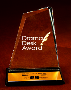 Image of the Drama Desk Award