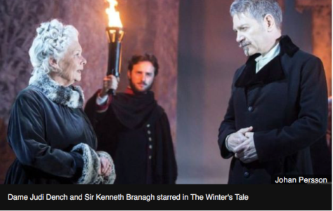 "Judy Dench and kenneth Brannaugh in a scene from ""The Winter's Tale."""