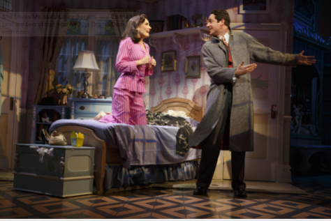 """""""She Loves Me"""" stars Laura Benanti and Zachary Levi are two of this year's Drama Desk nominees. (PHOTO: Joan Marcus)"""