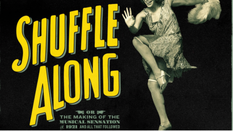 "Image of poster for the Broadway musical ""Shuffler Along."""