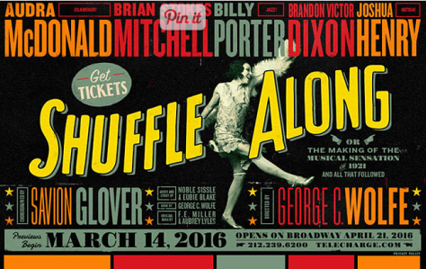 "Poster of ""Shuffle Along."""