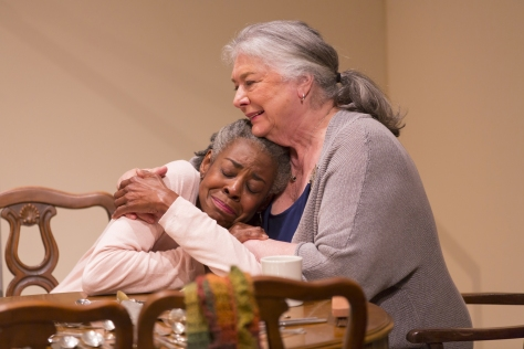 "Barbara Andreas and Marjorie Johnson as mother and daughter in ""I Remember Mama"" at the Two River Theater through June 26. (PHOTO: T Charles Ericsson)"