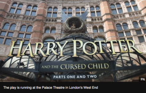 """Harry Potter and the Cursed Child"" is running at the palace Theatre."