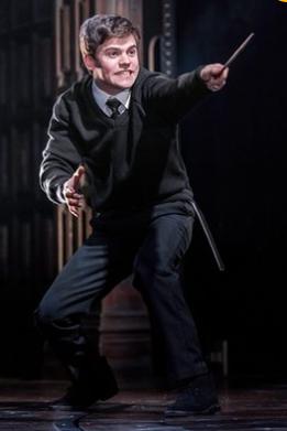Sam Clemmett as Albus Potter. Photograph: Manuel Harlan