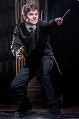 Sam Clemmett as Albus Potter. Photograph: Manuel Harlan