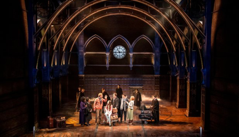 A scene from Harry Potter and the Cursed Child. Photograph: Manuel Harlan
