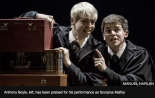 Anthony Boyle, left, has been praised for his performance as Scorpius Malfoy