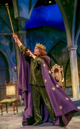 Brent Harris as the King. (Photo: Jerry Dalia)
