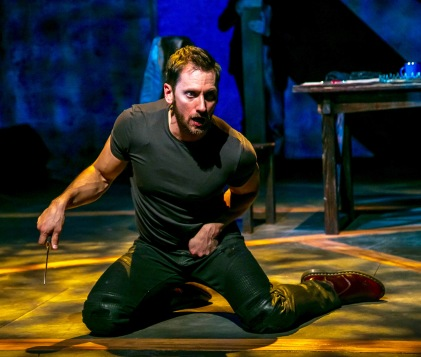 """Derek Wilson. in """"Richard III"""" by William Shakespeare. at The Shakespeare Theatre of New Jersey. Directed by Paul Mullins. (Photo: Jerry Dalia)"""