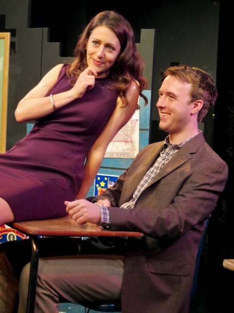 "Alex Trow and Graham Techler in ""Mad Love"" at New Jersey Repertory Theater, Long Branch, NJ"